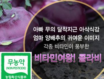 달콤아삭 친환경 콜라비(10kg)!!